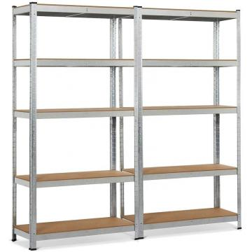 China Wholesale Light Duty 4 Tier Boltless Steel Shelving Unit