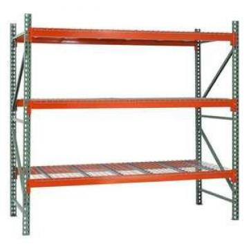 Supermarket warehouse storage pallet racking system