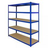 5 shelf heavy duty metal storage wire deck shelving steel rack